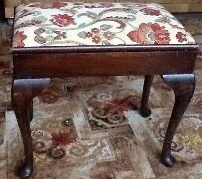 """Piano Stool Or Sewing With Storage. 15"""" High."""