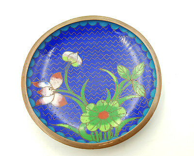 Antique Chinese Cloisonne dish