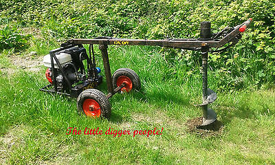 CALL 2 HIRE One Man Post Auger £54 daily inc. vat