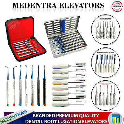 Dental PDL Elevators Proxximators Root Luxation Ascenseurs Surgical Veterinary