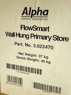 Alpha Flowsmart Wall Hung Primary Store 3022470 Free Delivery Vat Included