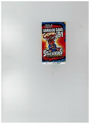 Topps UK Garbage Gang '91 empty wrapper (Pail Kids)