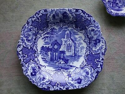 Antique George Jones & Sons Abbey pattern dated 1934 Cake plate