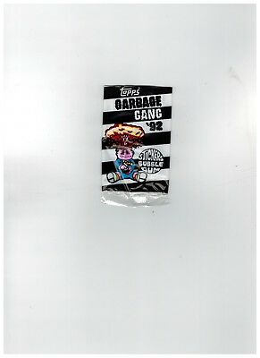 Topps UK Garbage Gang '92 Stickers Bubble Gum,empty wrapper (Pail Kids)