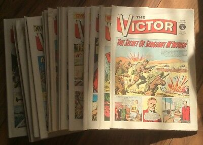 24 copies of the Victor Comic - all in the 600s - NO REPEATS