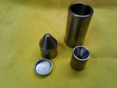 """25mm size freeze plug forming and center drill tool. 1"""" inch"""