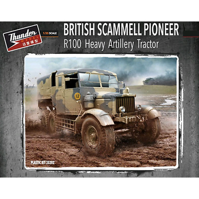 THM35202 - THUNDER MODEL: 1/35; Scammell Pioneer R100 heavy artillery tractor