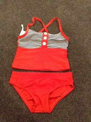 Baby Girls Top & Bottoms - Bathers Size 1
