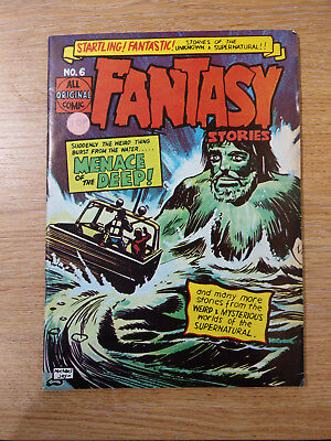 John Spencer And Co Comics Fantasy Stories #6 1960's Vintage Silver Age