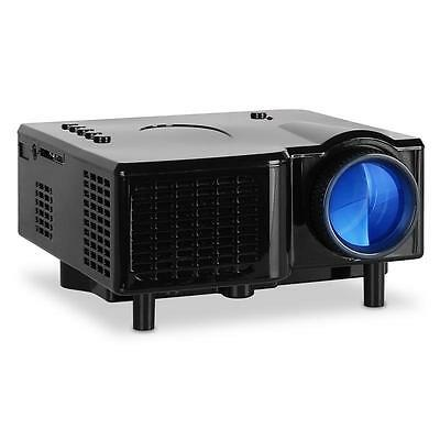 "Portable Mini Led Home Theater Cinema Projector Vga 17"" - 60"" Projection Office"