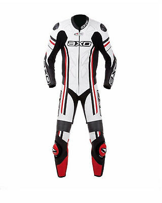 Motorcycle Leather Motorbike CE Armored Cowhide Suit One Piece Racing suit