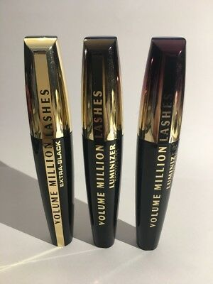 Loreal Volume Million Lashes Luminizer Brown Eyes + Hazel Eyes + Extra Black NEU