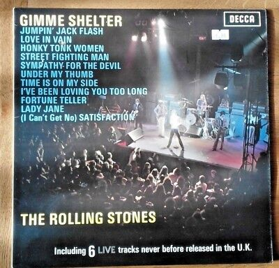 """The Rolling Stones """"Gimme Shelter"""" LP, 1971"""