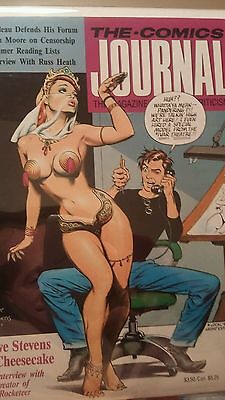 The comics journal 117 Dave stevens cover and interior pinups Russ Heath 1987