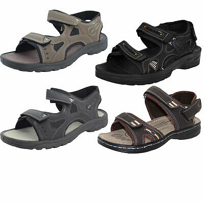 Mens Sports Summer Sandal Touch Fastening Straps for Casual Hiking Trail Walking