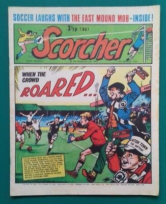 Scorcher comic. 6 March 1971.
