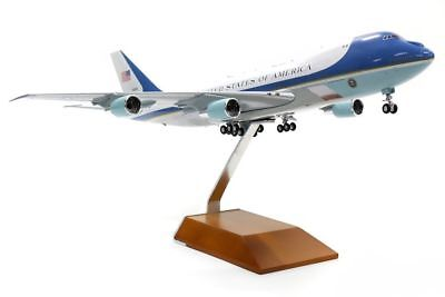 "Airplane USAF Air Force One VC-25A Boeing 747-200 DieCast 14"" Model Aircraft"