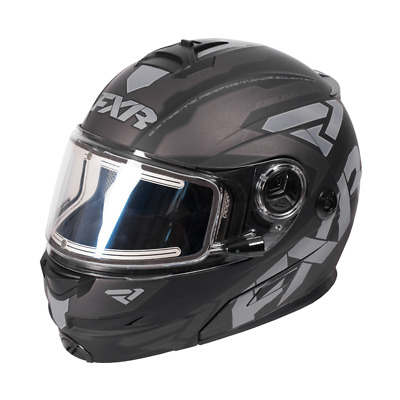Fxr Racing Fuel Modular Elite Helmet-Electric Sheild -L