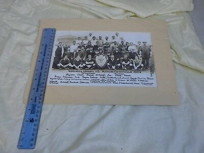 Woolwich Arsenal FC Print 1907-1908 team photo