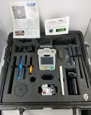 Fitel S121M S122D Cust2 Fusion Slicer Kit Only (0) Total Arc Count w/ Hard Case