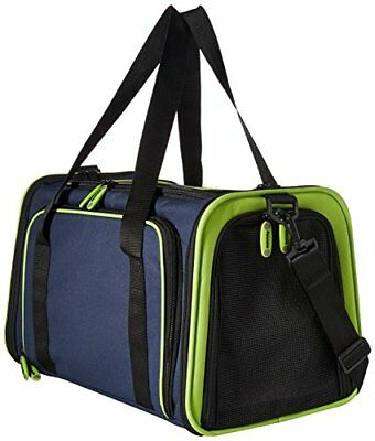 Petmate 21842 See and Extend Pets Carrier Navy Blue