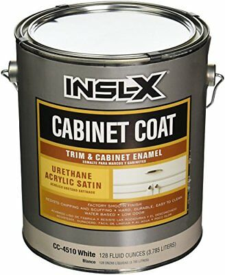 INSL-X PRODUCTS  CC4510092-01 Gallon Satin White Cab Enamel