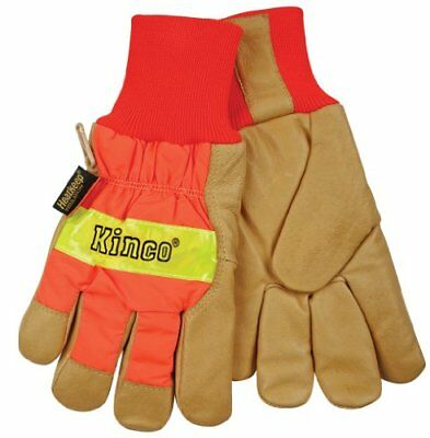 Getting Fit 35117193864 Kinco 0 Pigskin Knit Wrist Work Gloves X-Large