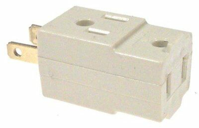 Leviton 001-531-I Ivory Cube Triple Tap Plug-In Outlet Adapter