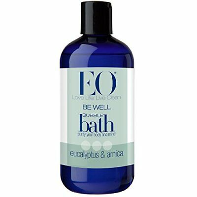 EO Products Be Well Bubble Bath - Eucalyptus & Arnica 12 fl oz (355 ml) Liquid