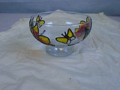 Small Stained Glass Fruit Bowl
