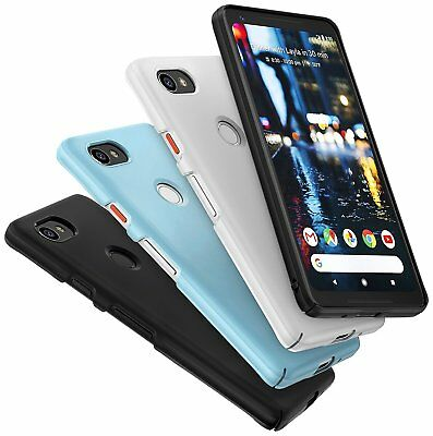 For Google Pixel 2 XL Ringke® [SLIM] Dual Coating Lightweight Hard PC Cover Case