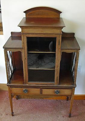 OLD ORIGINAL DISPLAY CABINET  --collection only--