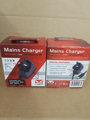 WHOLESALE JOB LOT 24 x NEW UGA MAINS CHARGER FOR NINTENDO DS -  NOT PALLET