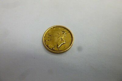 U.S. One Dollar $1 Liberty Head Gold Coin Unkown Date #2