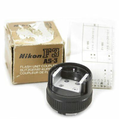 Nikon AS-3 Flash Coupler for F3 camera New old stock NOS