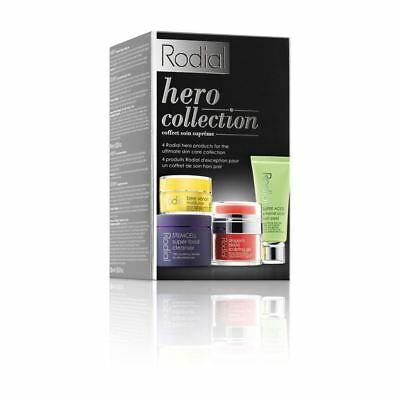 Rodial Heroes Collection Kit Sculpiting Gel+Peel+Bee Moisturiser+Cleanser Sealed