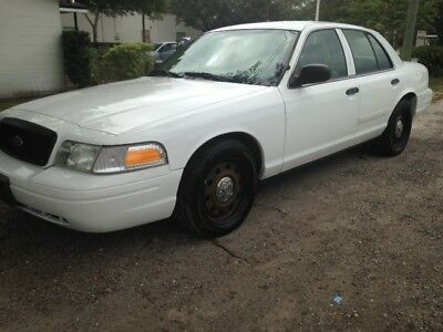 2010 Ford Crown Victoria POLICE 2010 ford crown victoria Police