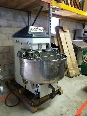 B200 Sigma Used 125Kg/ 275 Lbs Spiral Dough Mixer Includes Free Delivery