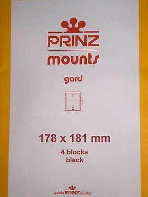 Prinz Stamp Mounts 178/181   ***We Are A Veteran Supportive Business***