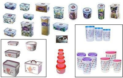 Lock  & Lock Plastic Containers Storage Air Tight  Box- FOOD, PASTA, LUNCH BOX,