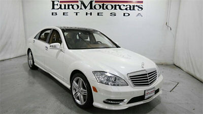 2013 Mercedes-Benz S-Class 4dr Sedan S 550 4MATIC mercedes benz s550 s 550 4matic white used 12 13 14 navigation tan sport pano
