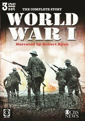 Complete Story Of World War 1 [] - 3 DVD - Box Set Colour -video Pal - *NEW*