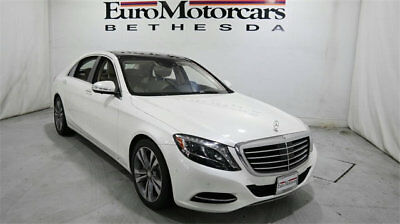 2015 Mercedes-Benz S-Class 4dr Sedan S 550 4MATIC mercedes benz s 500 550 s550 14 15 16 used certified navigation white awd 4matic