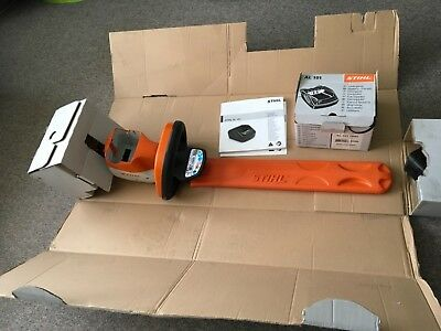 Stihl Compact Cordless Hedge Trimmer HSA 56 Set with AK battery and charger