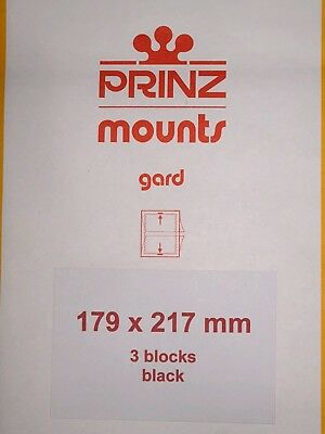 Prinz Stamp Mounts 179/217   ***We Are A Veteran Supportive Business***