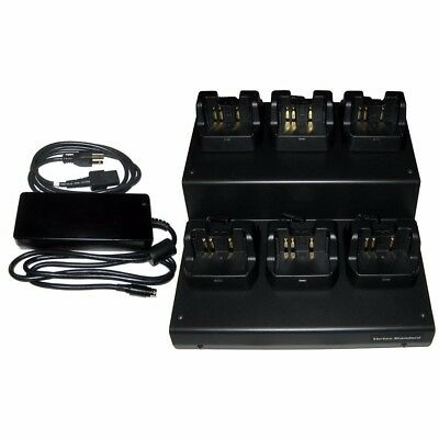 NEW Standard Horizon 6 Unit Multi Charger Dock - 110v Vac-6020b