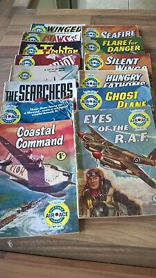 Air Ace Picture Library 14 Comics in Total