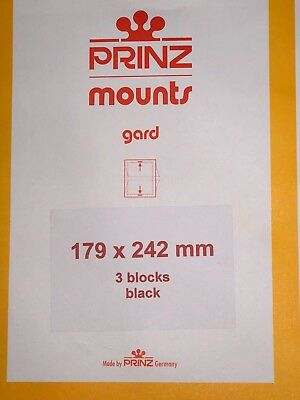 Prinz Stamp Mounts 179/242   ***We Are A Veteran Supportive Business***