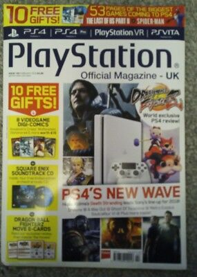 PLAYSTATION OFFICIAL MAGAZINE UK - ISSUE 145  February 2018 With free gifts