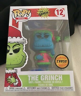 Funko Pop Books Dr. Seuss The Grinch #12 Limited Edition Chase
